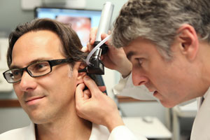 Hearing Aids Ear Exam